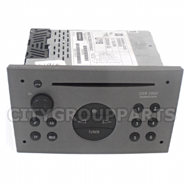 VAUXHALL ASTRA CORSA VECTRA SIEMENS VDO CDR 2005 RADIO CD PLAYER WITH CODE